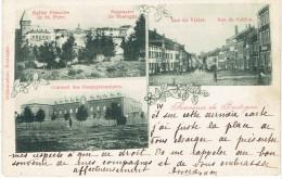 Souvenir De Bastogne  Multivues (3) Couvent Seminaire  Rue Du Vivier - Bertogne