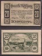 Österreich , Viechtwang - Notgeld , 20 Heller - Oesterreich