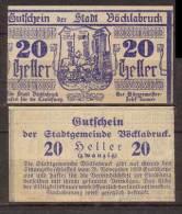 Österreich , Vöcklabruck - Notgeld , 20 Heller - Oesterreich
