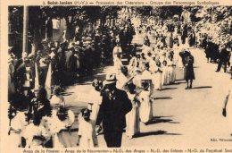 V585 cpa 87 Saint Junien - Procession des Ostensions
