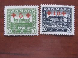 Denmark 1921 MNH  116.17 - 1913-47 (Christian X)