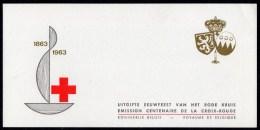 BELGIUM - 1963 RED CROSS CENTENARY CACHET BOOKLET COMPLETE SG SB35 FINE MNH ** - Booklets 1953-....
