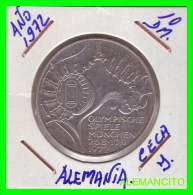 ALEMANIA   MONEDA  PLATA S/C 10DM MUNICH 1972 - [10] Conmemorativas
