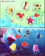 TAIWAN 2008 - Disney Nemo, Faune Marine, Tortues Poissons , Nemo -  2BF Neuf // Mnh - 1945-... République De Chine