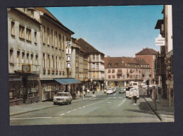 Vintage Zweibrücken / Pfalz - Maxstrasse ( Auto Volkswagen ...Gebr. Metz ) - Zweibruecken