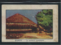 Océanie Tahiti La Maison Commune Pub: Chocolat Annecy Bien RRR 60 X 40 Mm - Chocolat