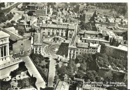 Roma (Lazio) Veduta Aerea Del Campidoglio, Dell'Aracoeli, Del Foro Romano E Del Palatino, Aerial View, Luftansicht - Autres Monuments, édifices