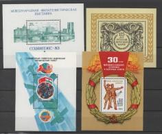 RUSSIE  - URSS - Blocs-feuilletsneufs **  De 1982/ 1984   ( Ref 3298 ) - 1923-1991 USSR