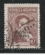 Argentina 1938. Scott #O44 (U) Bernardino Rivadavia - Argentine