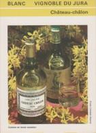 FICHE TECHNIQUE VIN - 1973 - VIGNOBLE DU JURAT - CHÂTEAU-CHÂLON. - Labels