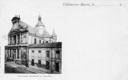 Châlons Sur Marne : Bataille De La Marne, L'ancienne Chapelle Du Collège - Châlons-sur-Marne
