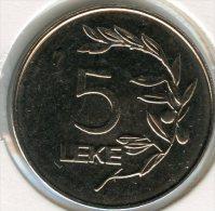 Albanie Albania 5 Leke 1995 UNC KM 76 - Albania