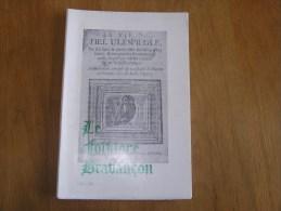 LE FOLKLORE BRABANCON N° 199 Revue Régionalisme Tyl Ulenspiegel Seigneurie Golart Noduwez Marbaix 8 è De Ligne Armée - Belgien