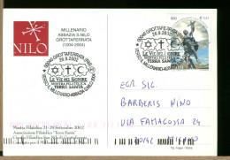 ITALIA  - GROTTAFERRATA - MILLENARIO ABBAZIA SAN NILO - Christianisme