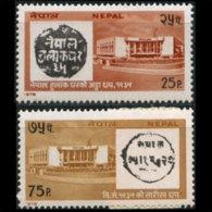 NEPAL 1978 - Scott# 341-2 Postal Services Set Of 2 MNH - Nepal