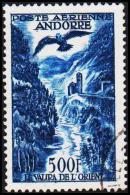 1957. 500 F. POSTE AERIENNE ANDORRA.  (Michel: 160) - JF193025