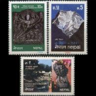 NEPAL 1984 - Scott# 428-30 Tourism Set Of 3 MNH - Nepal