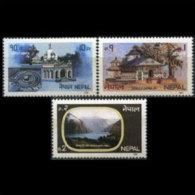 NEPAL 1985 - Scott# 437-9 Tourism Set Of 3 MNH - Nepal