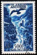 1957. 500 F. POSTE AERIENNE ANDORRA.  (Michel: 160) - JF193023