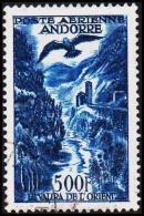 1957. 500 F. POSTE AERIENNE ANDORRA.  (Michel: 160) - JF193027
