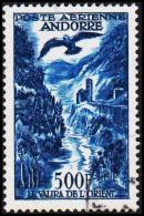 1957. 500 F. POSTE AERIENNE ANDORRA.  (Michel: 160) - JF193026