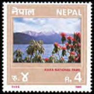 NEPAL 1989 - Scott# 476 Natl.Park Set Of 1 MNH - Nepal