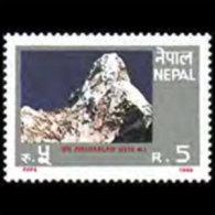 NEPAL 1989 - Scott# 477 Mt.Ama Dablam Set Of 1 MNH - Nepal