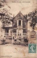 CPA 33 BEYCHAC ECOLE COMMUNALE (cpa Rare - Frankrijk