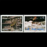 NEPAL 1993 - Scott# 529-30 Tourism Set Of 2 MNH - Nepal