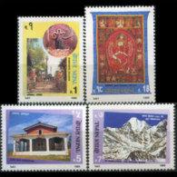 NEPAL 1995 - Scott# 574-7 Tourism Set Of 4 MNH - Nepal