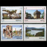 NEPAL 1996 - Scott# 593-6 Tourism Set Of 4 MNH - Nepal