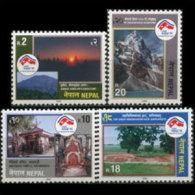 NEPAL 1998 - Scott# 625-8 Tourism Set Of 4 MNH - Nepal