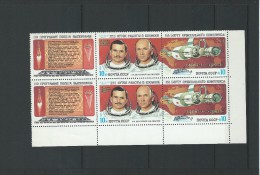 Astronauts-Space Traveling.Berezovoi-Lebedev.  Mic. 5267-68.  USSR  # 463 # - Russia & USSR