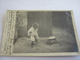 CPA PHOTO ENFANT 1903 - Children And Family Groups
