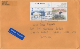 Canada Cover With Bear And Duck Stamps - Lettres & Documents
