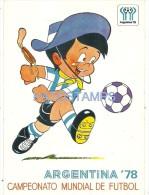 29304 ARGENTINA MUNDIAL DE FUTBOL SOCCER WORLD CUP 1978 POSTAL POSTCARD - Argentinien
