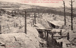 "Massif De Moronvilliers :  Bataille De La Marne, Le ""Casque"" - Epernay"