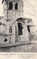 PRUNAY :  Bataille De La Marne, Le Clocher De L'Eglise Après Le Bombardement - Epernay