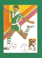 USA 1983 ,  Olympics 83 - Soccer - Maximum Card - San Antonio Jun 17 1983