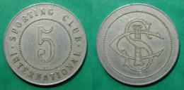 Monaco Sporting Club International 5 Francs Elie 75.2 - Monétaires / De Nécessité