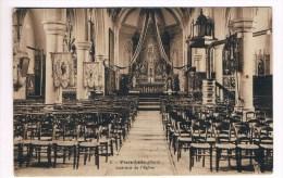 33663 ( 2 Scans ) Fiere Lille Nord Interieur De L'eglise - Lille