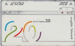 Telefonkarte Israel  Karten Nr.  549K - Israel