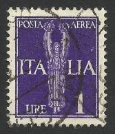 Italy, 1 L. 1930, Sc # C16, Mi # 330, Used - Airmail