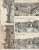 Bruxelles Lot De 5 Cp De La Gare Du Nord - Lots, Séries, Collections