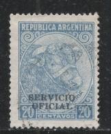 Argentina 1953 Scott #O48 (U) Bull (Cattle Breeding) - Argentine
