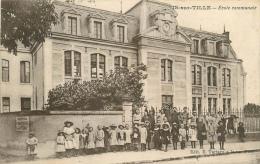 CPA Is sur Tille-Ecole communale    L2011