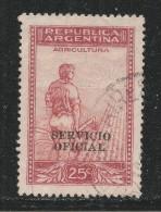Argentina 1938. Scott #O49 (U) Agriculture - Argentine