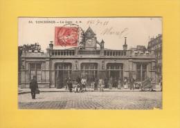 * CPA..dépt 94..VINCENNES  :  La Gare :  Voir Les 2 Scans - Vincennes