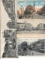 Bruxelles Lot De 5 Cp De La Place De Brouckère - Lots, Séries, Collections
