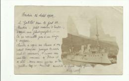 "CARTE PHOTO:BÂTEAU ""LE GALILÉE""A BASTIA (CORSE) Dép 20.ÉCRITE.CORRESPONDANCE SUR RECTO. - Schiffe"